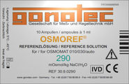 Osmoref® 290 mOsmol/kg reference solution