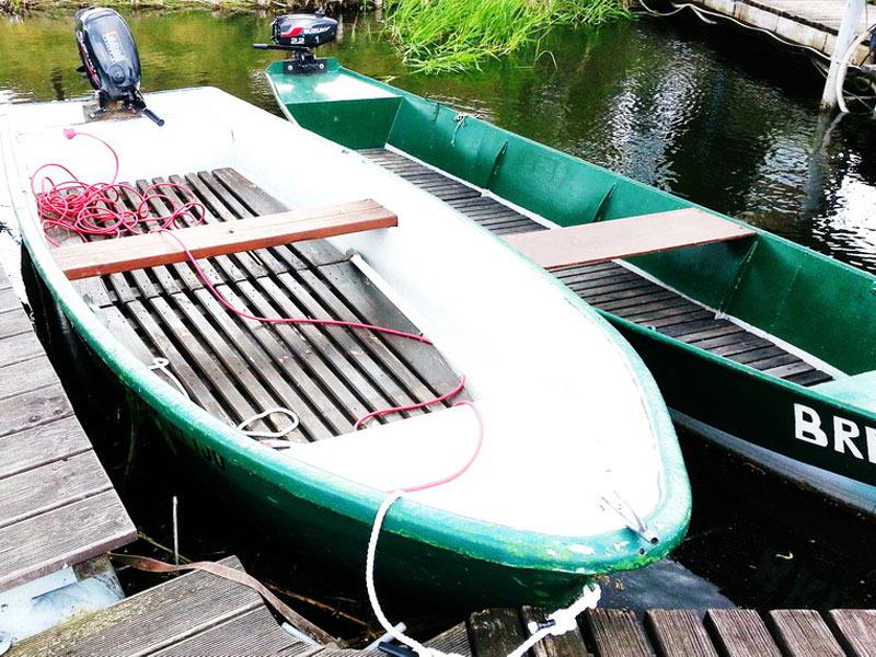 Astra und Brava - unsere Motorboote