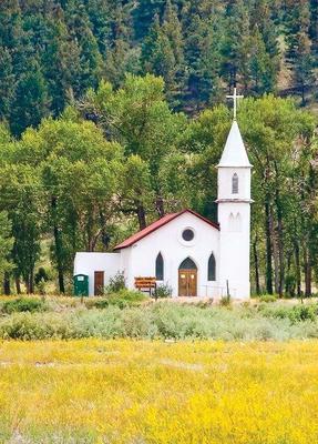 Church across Street