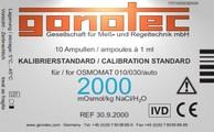 2000 mOsmol/kg calibration standard