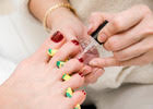 Deluxe Manicure or Pedicure