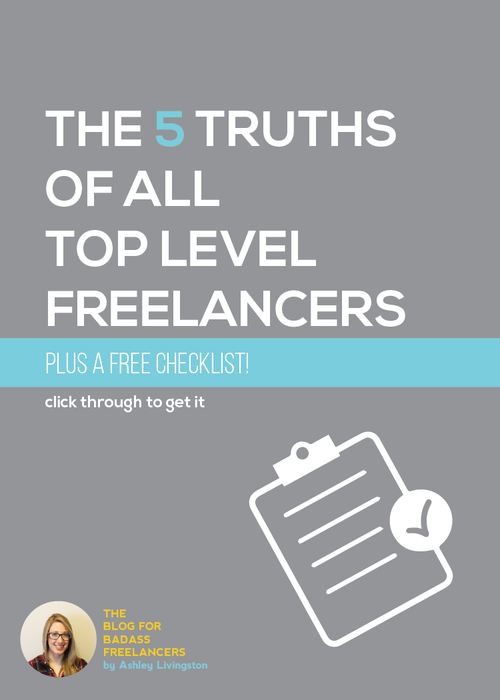 Every top dog, freelance VIP out there shares a few key traits.  Knowing the 5 Truths of All Top-Level Freelancers can help you become one.