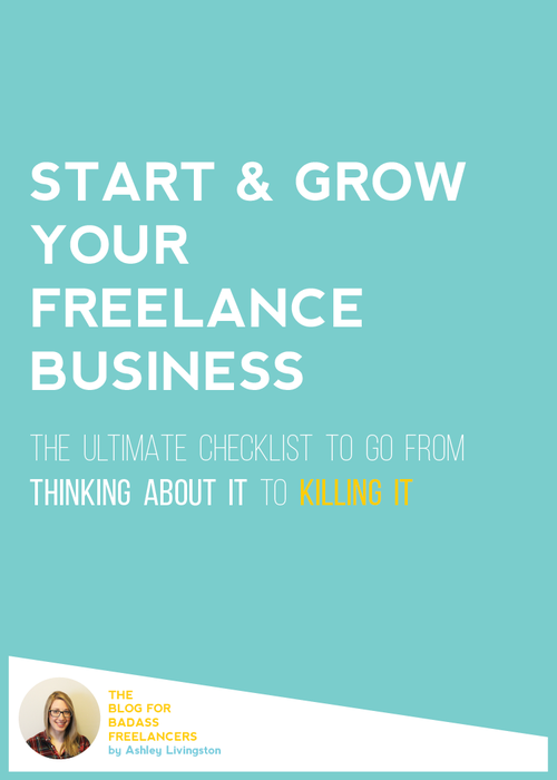 This checklist breaks down the exact steps you need to take to leave your current job, start your business, Master Your Income & become a top-level freelancer.  You ready?