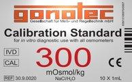 300 mOsmol/kg calibration standard