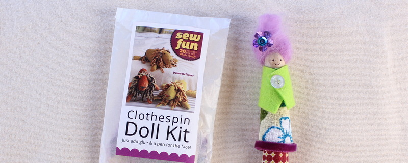 Make Your Own Clothespin Doll Kits
