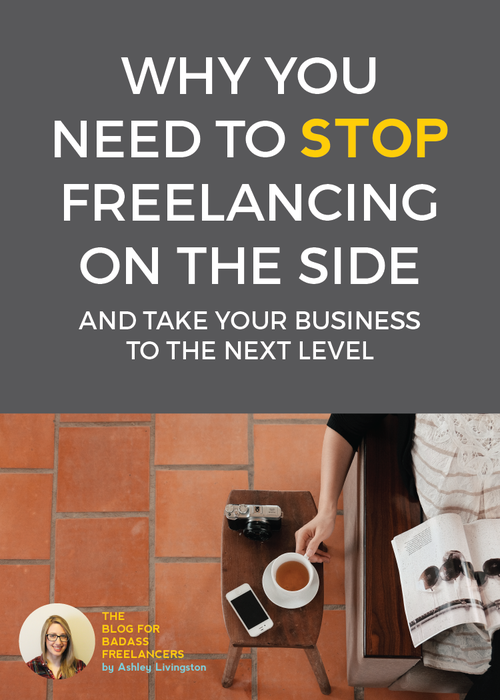 Freelance VIPs freelance full time and take their businesses seriously - moonlighting and side hustles aren't going to make your freelance dreams come true, or get you the income, flexibility, or recognition you need.
