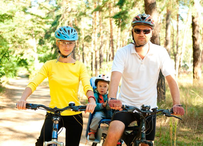 Fahrräder zum Erkunden der Region
