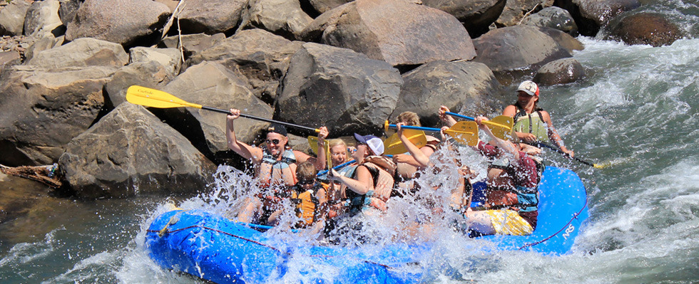 Rafting the Animas in Durango, CO