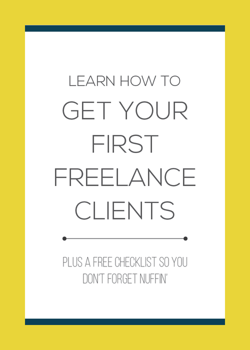 Learn the three things you need to leave your full time job and start your own freelance business.  Find out how I secured $2500 to $3000 worth of freelance work in my first month.