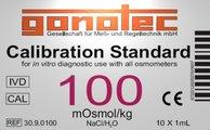 100 mOsmol/kg calibration standard