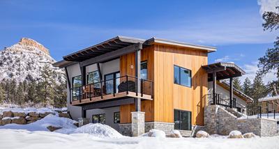 Custom home by Mantell-Hecathorn Builders, Durango, CO